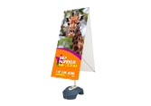 "Zephyr-X Outdoor Stand, 60"" x 24"" 2 Sided"