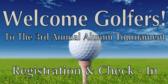 golf tournament signs