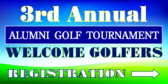 Annual Golf Tournament Registration Directional
