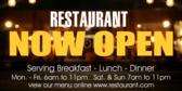 Restaurant Now Open