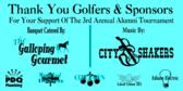 Golf Tournament Banquet