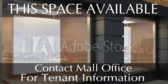 Mall Space Available