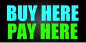 Buy Here Pay Here Black