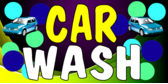 Car Wash Purple Green