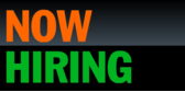 Now Hiring Orange Green