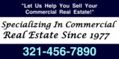 Specializing in Commercial Real Estate Since 1977