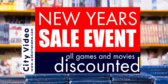 New Years Sale Event