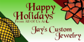 Happy Holidays From The Jewelers
