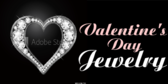 Valentine's Day Diamond Jewelry Banner