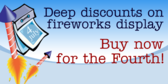 Deep Discounts On Fireworks