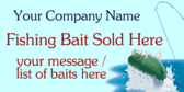 Fishing Bait Sold Here