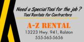 Tool Rentals for Contractors
