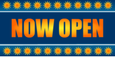 Now Open Sunburst