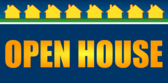 Open House Blue Gold