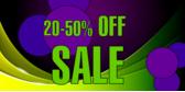 20-50% Off Sale