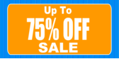 Up To 75 Percent Off Sale