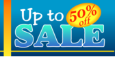 Up to 50 Percent Off Sale