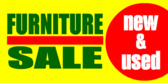 Furniture Sale New & Used