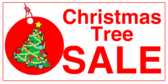 Christmas Tree Sale Tag