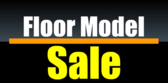 Floor Model Sale Black
