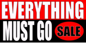 Everything Goes Sale Banners
