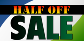Half Off Sale Event