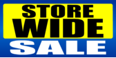 Store Wide Sale Yellow