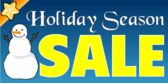 Sale Holiday Season