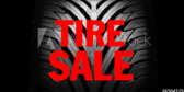 Tire Sale Blue