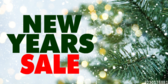 New Years Sale Red Green