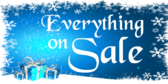 Everything On Sale Blue