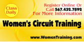 Women's Circuit Training Yellow