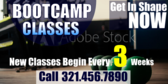 New Bootcamp Classes