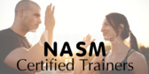 NASM Certified Trainers