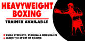 Heavyweight Boxing Trainer Available