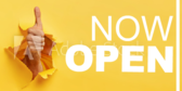 Now Open Yellow