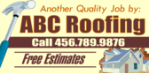 Another Quality Job By Roofers