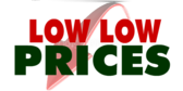 Low Low Prices Red Arrow