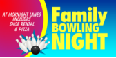Family Bowling Night