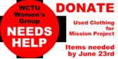 Womens Group Needs Help
