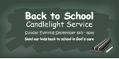 Back to School Service