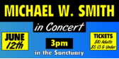 Michael W. Smith in Concert