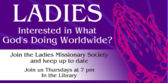 Ladies Missionary Society