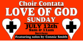 church choir sign template