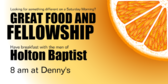 Great Food and Fellowship