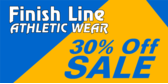 Thirty Percent Off Athletic Sale