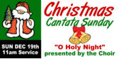 Christmas Cantata Sunday