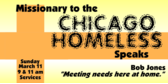 Missionary Chicago Homeless