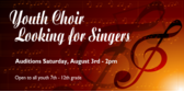 Youth Choir Looking for Singers