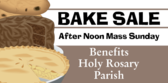 Church Bake Sale With Pics